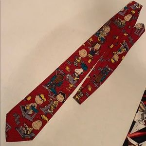 Charlie Brown peanuts and Gang Workout Gym Tie